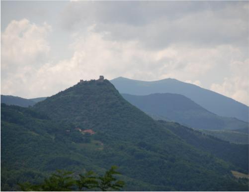 Pogled iz daljine na Koznik