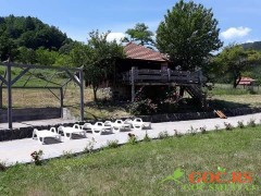 Brvnara na Meljaničkom bazenu - vikendice na Goču
